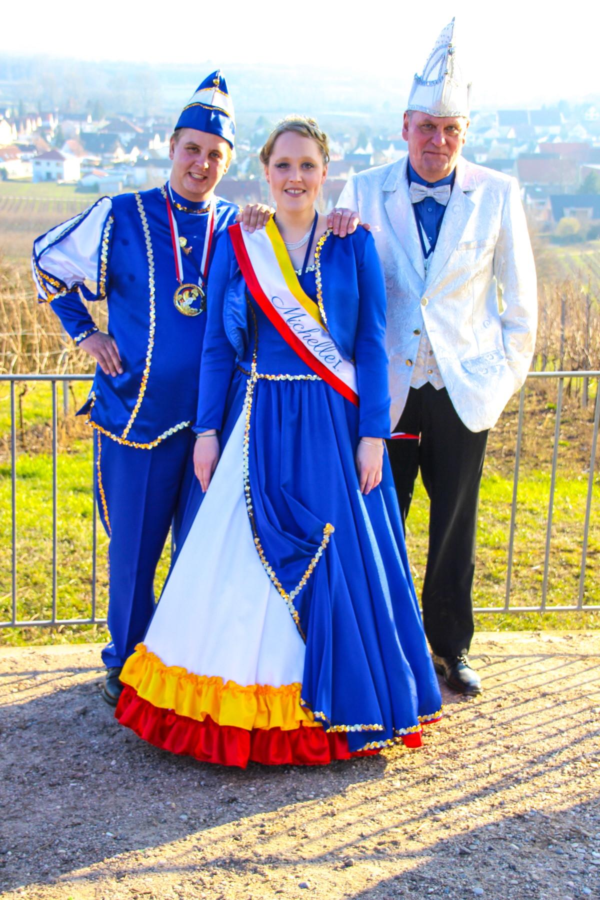 Prinzessin Michelle I. und Prinz Sebastian I.