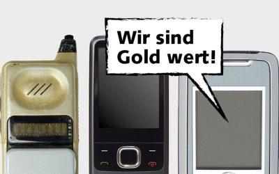 """Frauenbund unterstützt """"Woche der Goldhandys"""""""